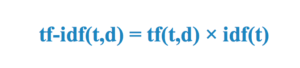 Clustering Text Documents: TF-IDF Weighting